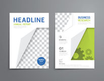 Vector brochure, flyer, magazine cover booklet poster design. Royalty Free Stock Image