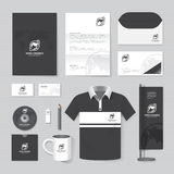 Vector brochure, flyer, magazine, folder, shirt,cover booklet poster mockup Royalty Free Stock Image