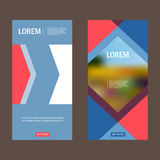 Vector brochure flyer modern design template Royalty Free Stock Image