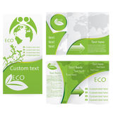 Vector Brochure Layout Design Royalty Free Stock Photography