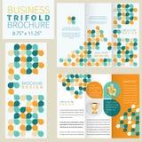 Vector Brochure. Layout Design Template Royalty Free Stock Photos