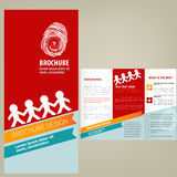 Vector Brochure Layout design. Template Royalty Free Stock Photography