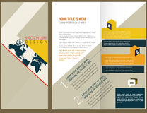 Vector Brochure Layout Design Stock Photos