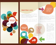Vector Brochure Layout Design. Template Stock Illustration