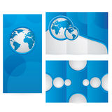 Vector Brochure Layout Design Royalty Free Stock Photo