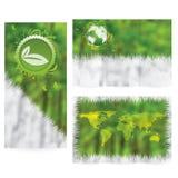 Vector Brochure Layout Design Stock Photography