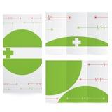 Vector Brochure Layout Design Stock Images