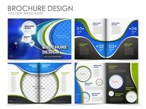 Vector brochure layout design template vector illustration
