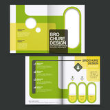 Vector brochure layout design template Stock Photo