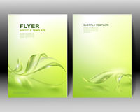 Vector brochure template design Stock Photo