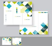 Vector brochure template design Royalty Free Stock Photography