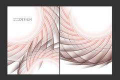 Vector brochures templates Royalty Free Stock Photography