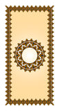 Vector Bronze Islamic Art Ornaments Royalty Free Stock Photo