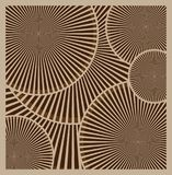 Vector brown abstract background. Abstract beige circles, wheels. Eps10 Royalty Free Stock Images