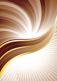 Vector brown background Stock Photography
