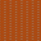 The vector brown brick wall. Background. Monk bond Stock Photography