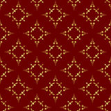 vector brown geometrical seamless texture Royalty Free Stock Image