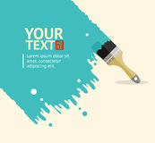 Vector brush background Royalty Free Stock Photos