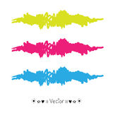 Vector brush stroke, Illustration EPS10. Great for any use Stock Photos