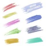 Vector Brush Stroke Stock Image