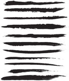 Vector Brush Strokes Royalty Free Stock Images