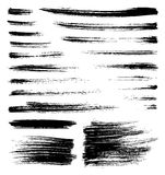 Vector brush strokes Royalty Free Stock Image