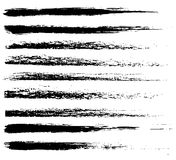 Vector brushes Royalty Free Stock Photos