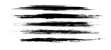 Vector brushes Royalty Free Stock Photo