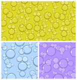 Vector Bubble Background royalty free illustration