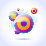 vector bubble background Royalty Free Stock Photos