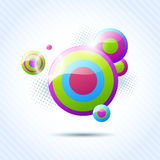 vector bubble background Stock Images