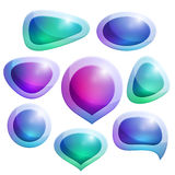 Vector bubbles stock illustration
