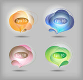 Vector bubbles Royalty Free Stock Photography