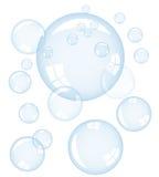 Vector bubbles Royalty Free Stock Photo
