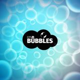 Vector bubbles background. Liquid stream. Foam illustration. Vector bubbles background. Liquid stream. Soap foam royalty free illustration