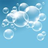 Vector bubbles. Royalty Free Stock Photos