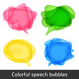 Vector bubbles for speech Stock Photography