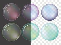 Vector bubbles royalty free illustration