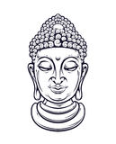 Vector Buddha Stock Image