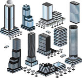 Vector buildings Royalty Free Stock Image