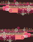 Vector bullet chocolate Royalty Free Stock Image