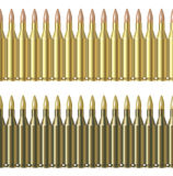Vector Bullet Pattern Line Royalty Free Stock Image