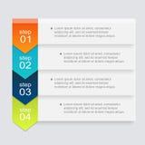 Vector bunte Informationsgraphiken für Ihre Geschäftsdarstellungen Lizenzfreies Stockfoto