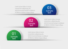 Vector bunte Informationsgraphiken für Ihre Geschäftsdarstellungen Lizenzfreies Stockbild