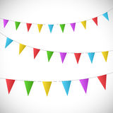 Vector Bunting Banners Royalty Free Stock Photos