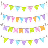 Vector Bunting Stock Image