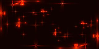 Vector burgundy radiant background with red stars. For registration of paper or banners Royalty Free Stock Photography