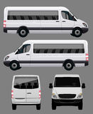 Vector Bus Stock Image