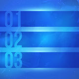 Vector business background. One two three banners. Vector abstract background for business or web. Blue colours Royalty Free Stock Photos