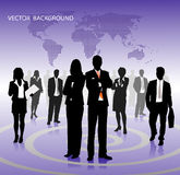 Vector business background Stock Photo